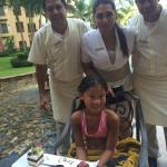 Miguel, Cinthia and Santiago, the other excellent staff that made our stay wonderfully memorable