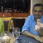 Restaurant ...Me and My wife