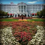 Front View of Greenbrier Resort