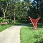 Sculpture along the Stowe Recreation Path