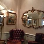Old world charm in the common areas