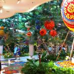 The entrance to The Wynn Casino