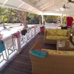Veranda/Terrace of Riverboat Suite