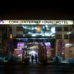 Front of Hotel by Evening