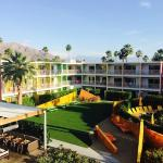 View from Saguaro Palm Springs room balcony