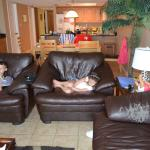 end of couch/compare to what was shown in other picture./Sand Dollar unit 110