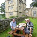 Tea and cakes at North Lees Hall