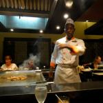 Asian cuisine at one of the resort restaurants. It was yummy!