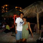 our 1st night there.