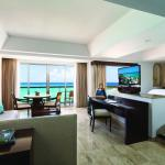 One of the hotel suites with beautiful ocean view