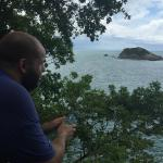view from manuel antonio punta de catedral
