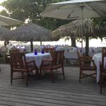 Beachside setting for Independence celebration at Sandals Rose Hall