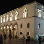 Old City of Dubrovnik by night