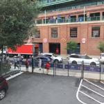 Fenway view from inside room