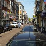 Kerk Street at 10am - hotel on the right