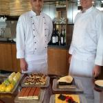Delicious sweets in the Club Lounge