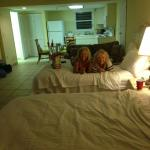 Our huge room