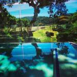 View from the hot tub at Carmel Valley Ranch