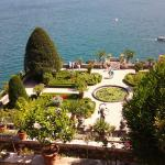 view from Isola Bella gardens
