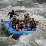 White Water Rafting with Blue Sky Adventures