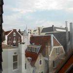 View out one bedroom window in 409.  Not adjacent to street.  Quiet location in hotel.