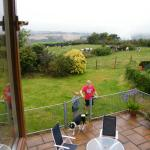 View from Upstairs window of Orchard Cottage
