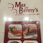 Max and Benny's