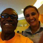 Great smile, great greeting, great service =Eliana at Courtyard Marriott San Jose Alajuela