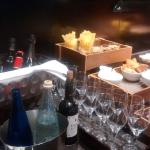 snacks y bebidas en The Level