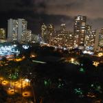 Partial Oceanview at Night from Lanai