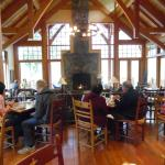 The lodge restaurant