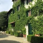 lovely exterior of the Villa Barone