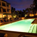Our Glistening Heated Pool