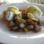 To die for EGGS BENEDICT!