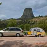 Camp Site View of Devils Tower