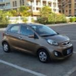OUR KIA PICANTO FOR THE WEEK. CUTE!