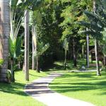 Walk way to Resort