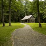 A beautiful old historic cabin in Cades Cove.