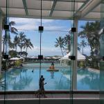 Looking our from Main Lobby to Lagoons
