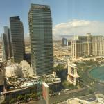 James Bond PH Suite view of Cosmo, Bellagio, Caesars