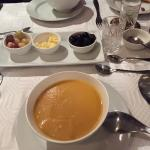 Sweet potato and carrot bisque