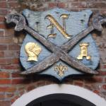 Coat of Arms over Courtyard Exit