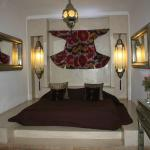 Beautiful bedroom at Riad Assakina