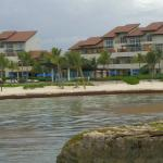 resort view from cove