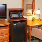 In-Room Mini Fridge and Microwave