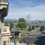The best hotel in Geneva, perfect service, nice view, nice location, the staff very kind and hel