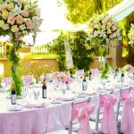 Blushing Wedding Decorations
