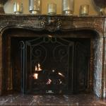 conceirge fireplace