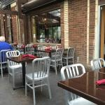 outside option for seating in spring, summer & fall