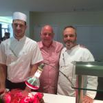 Me with the Head Chef and Carvery Chef